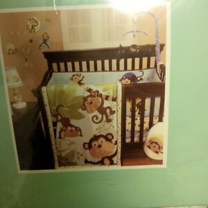 crib bedding and cart cover