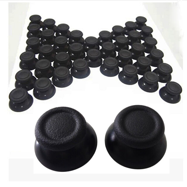 Black 10X Replacement Controller Analog Thumbsticks Thumb Stick for Sony PS4