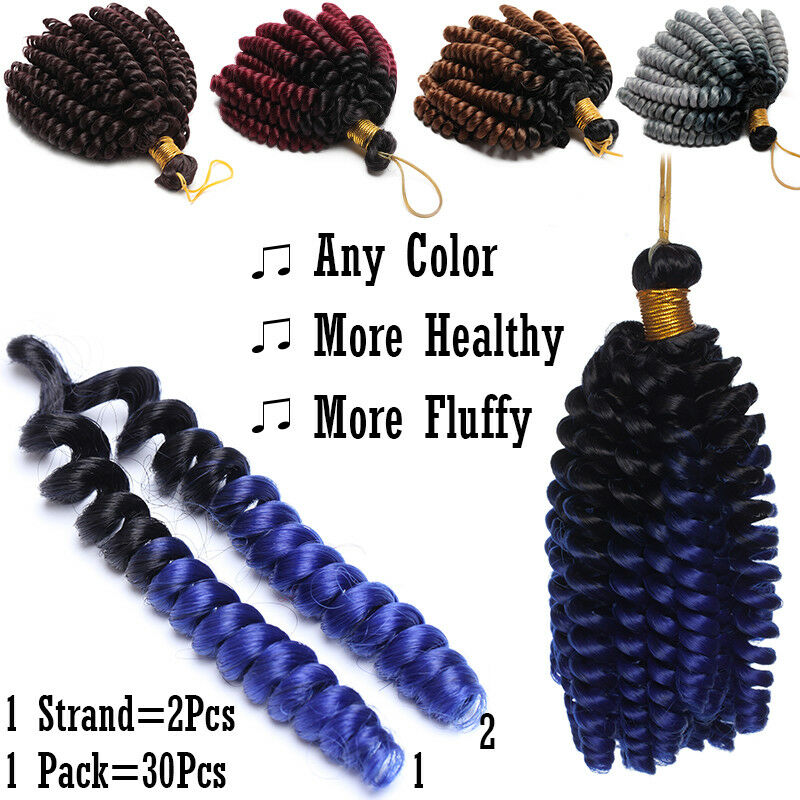 Jamaican Bounce Curly Hair Jumpy Wand Curl Twist Crochet