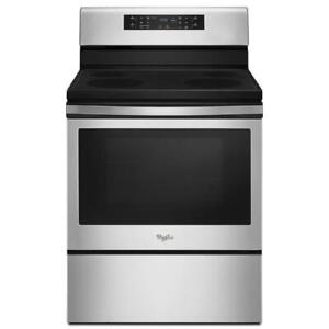 Whirlpool freestanding electric range | Stainless Steel (WL2641)