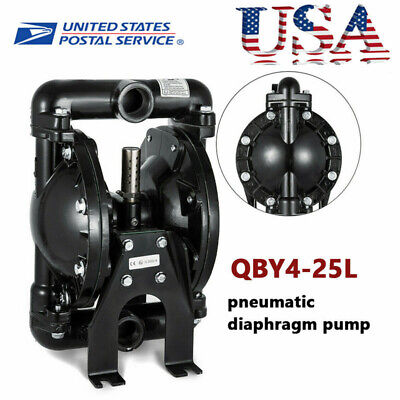 Air-operated Diaphragm Pump 2 Diaphragm For Use W Low Viscosity Petroleum Fluid