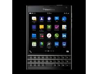 Blackberry Passport as new with cover