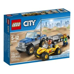 Lego City 60082 Dune Buggy Trailer 222 PCS