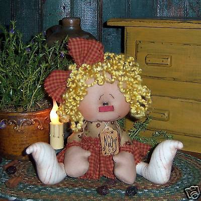 Primitive Raggedy Annie Ann Ornie Prim Doll Paper Pattern 564