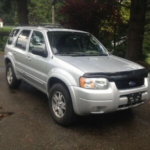 2003 Ford Escape Limited Edition 4x4
