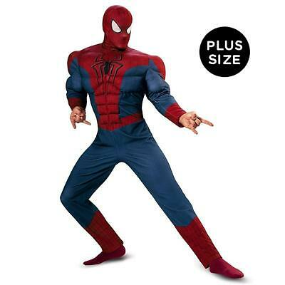 Spider-Man Movie 2 - Adult Muscle Chest Plus Size Costume - Plus (50-52)