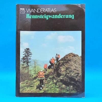 DDR Wanderatlas | Rennsteig | 1986 | Ernstthal Masserberg Oberhof u.a.