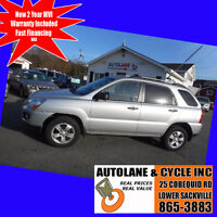 2009 Kia Sportage LX FWD Only 136000km $6495 Autolane Value Bedford Halifax Preview