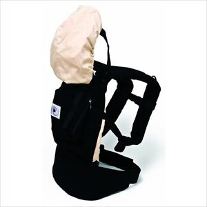 Black ERGO BABY Carrier - WITH Infant Insert London Ontario image 1