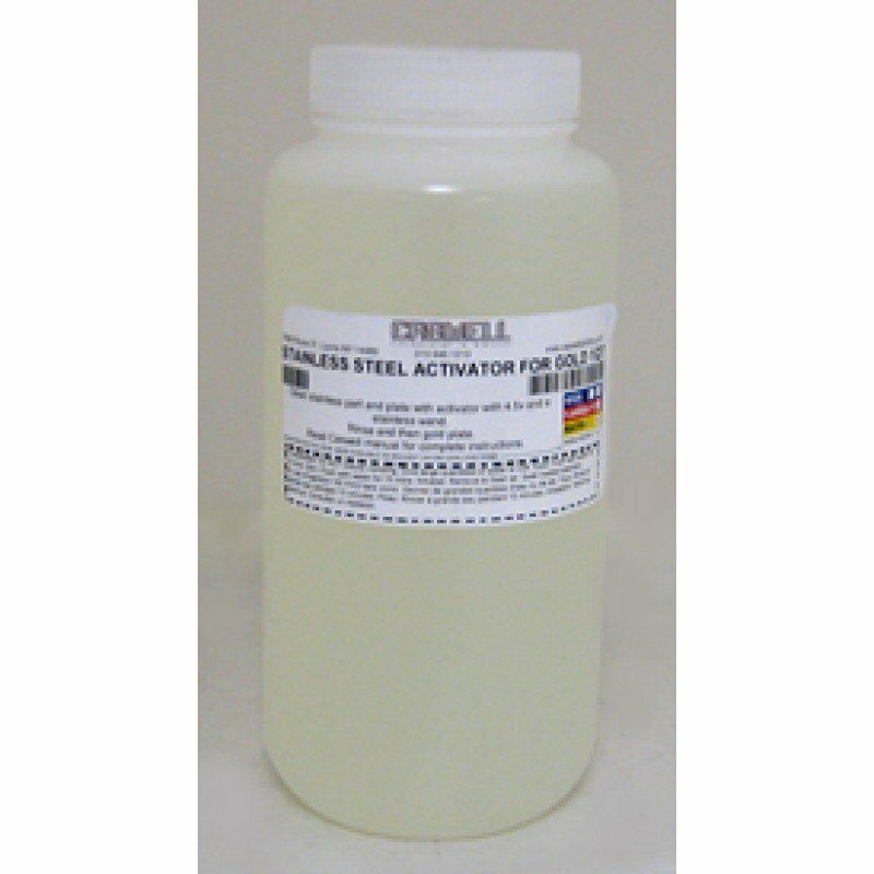 Stainless Steel Activator For Gold 8 fl oz Solution