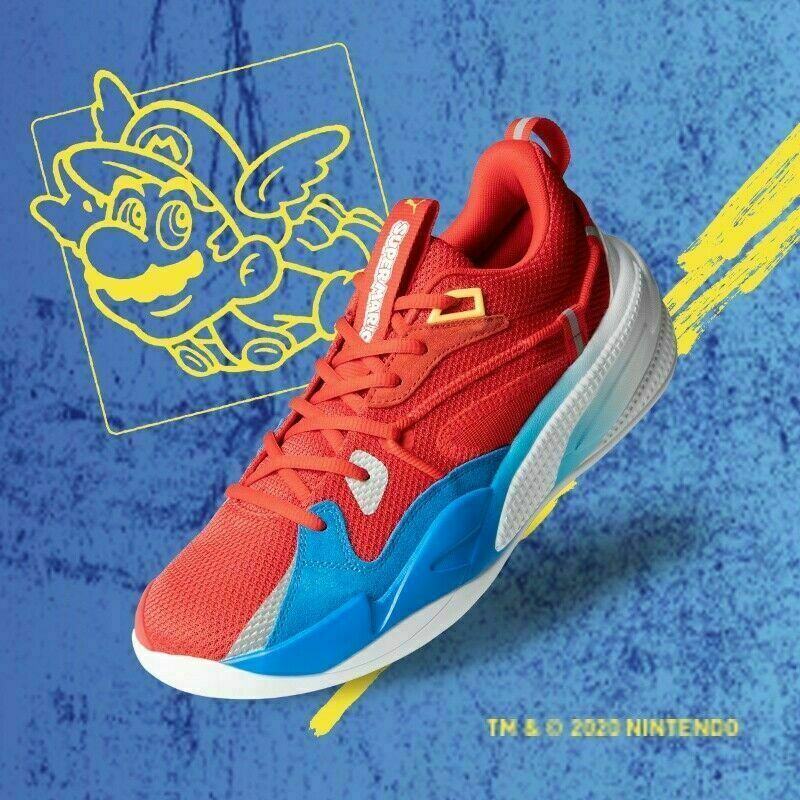 PUMA RS DREAMER SUPER MARIO 64 NINTENDO MENS SIZE 10.5 CONFIRMED ORDER NEW
