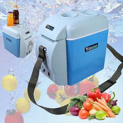 Mini Kühlschrank Kühlbox Kühltasche für Auto KFZ Kühler/Wärmer 7,5L 12V Camping ()