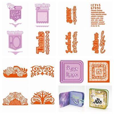 tanzformen Scrapbooking Papier Karten Handwerk Präge (Papier Prägen)