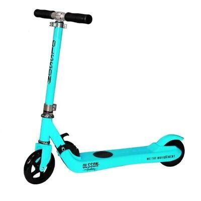 Patinete eléctrico scooter infantil olsson fun azul - ruedas 5'/12.7cm - motor...