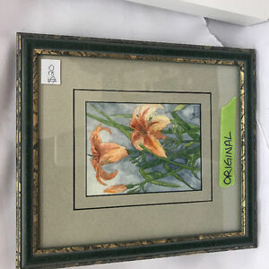 Original Water Colour flowers painting