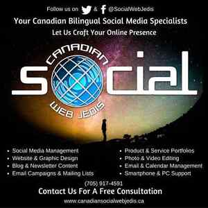 Shave Hours Off Your Day: Bilingual Social Media Management Peterborough Peterborough Area image 1