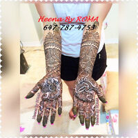Bridal Henna Artist available@ affordable heena rate in Brampton