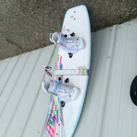 New Woman's Wakeboard and Bindings
