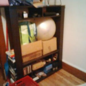 meuble tv et  rack a cd
