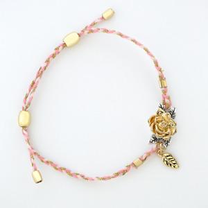 Brand New Beauty & The Beast-The Rose Cord Bracelet