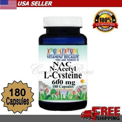 N-Acetyl Cysteine (NAC) 600mg Lung Kidney Liver Detox