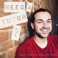 In-home Tutor Available Oakville and Burlington