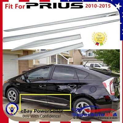 04-09 Toyota Prius A//C Heat Dash Air Vent Bezel Set of 4 Gray  Nice!