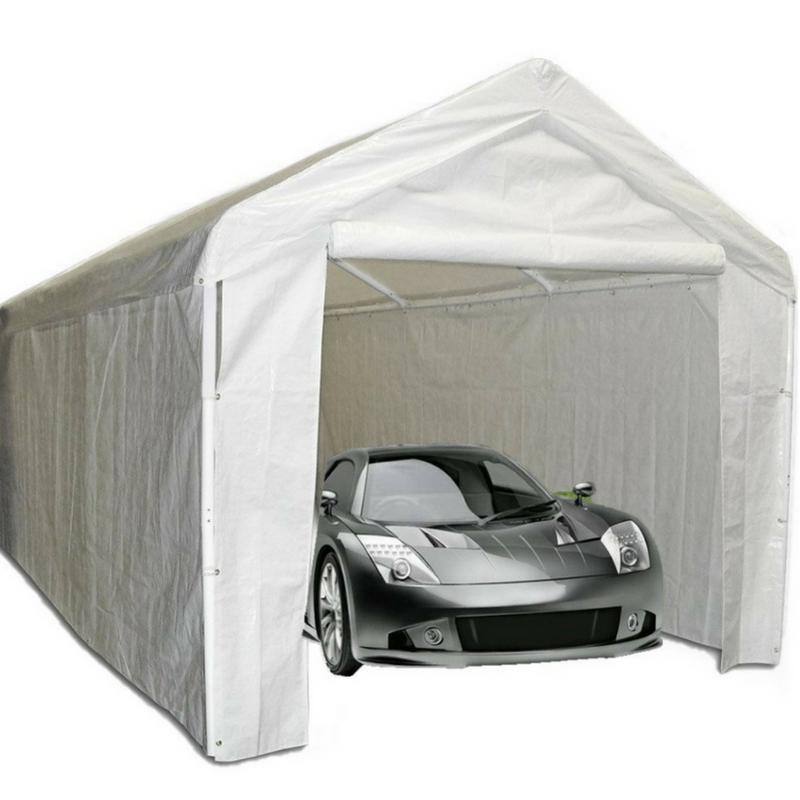 10x20 carport canopy garage shelter tent sidewall