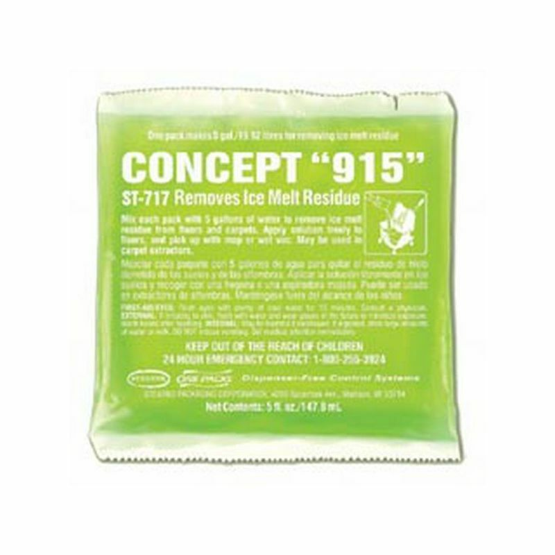 Nassco Concept 915 Ice Melt Residue Cleaner, 36- 5 oz pk/cs