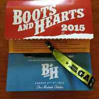 Boots and Hearts Ticket!