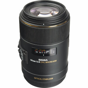 sigma 105mm f 2.8 OS macro lens $500 FOR CANON
