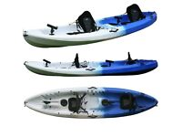 new 2+1 fishing kayaks