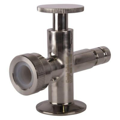 Sight Level Tri Clamp 1.5 1 12 Inch Valves Lower - Sanitary 3 Pack