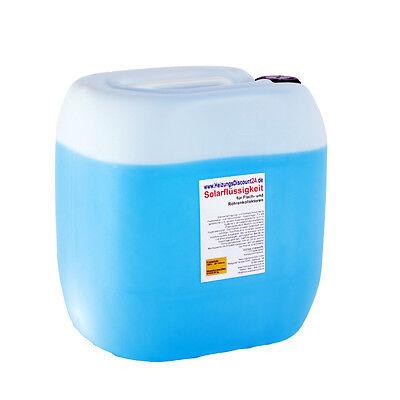 30 Liter Solarflüssigkeit bis -28°C Wärmeträgermedium Solaranlagen Frostschutz