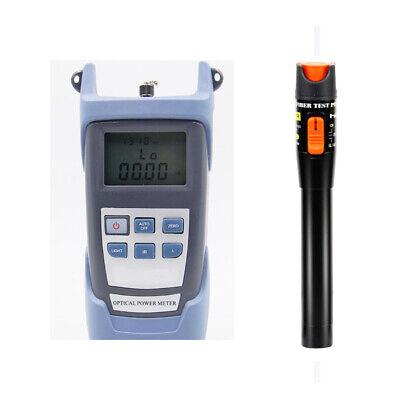 Fiber Optical Power Meter 10km 10mw Visual Fault Locator Cable Tester