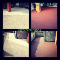 Greener Surfacing a Rubber Paving and Fencing Company