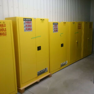 Flammable Cabinets - New on sale - warehouse equipment