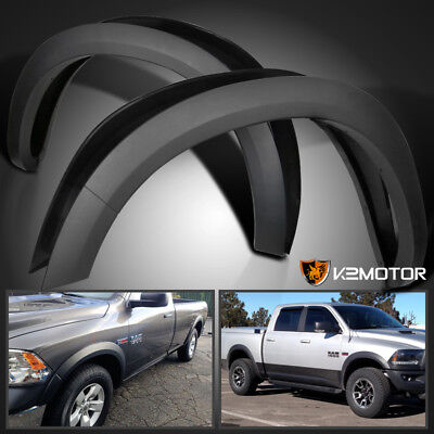 2009-2018 Dodge Ram 1500 Smooth Factory Style Replacement Bolt On Fender Flares