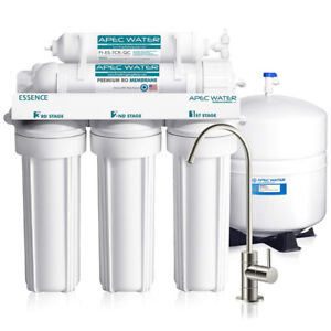 APEC 5-Stage Reverse Osmosis Drinking Water Filter System