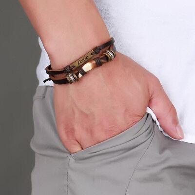 Pulseras Para Hombre Fina De Moda Oro Plata 925 Men De Cuero Pulseira Masculina