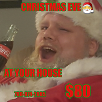Real Santa for private party