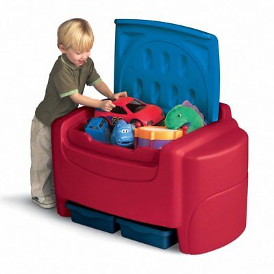 Little Tikes Sort n Store Toy Chest - Primary Colors, Red