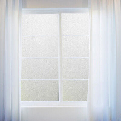 NEW PVC Frosted Glass Film Home Bedroom Bathroom Window Door Sticker