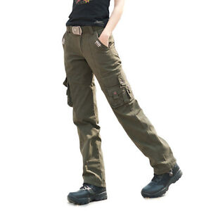 Lastest 7724U_3 Walls Cotton Cargo Pants  Relaxed Fit For Women