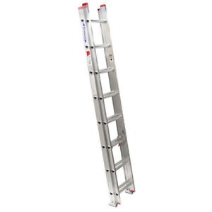 Werner 16-ft Type III Aluminum Extension Ladder (Good Condition)