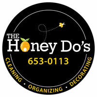 Cleaning, Organizing, Decorating...What's on your HONEY DO list?