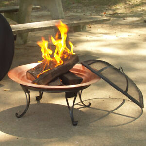 ! Beautiful Portable Copper FirePit !
