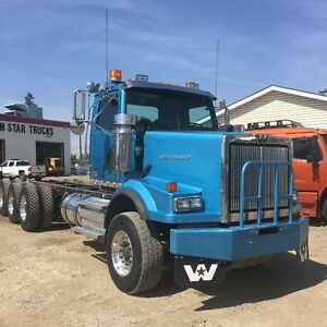 2012 WESTERN STAR TRI DRIVE, ALLISON AUTOMATIC