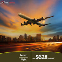 Return Flight Tickets | Vancouver-Beijing