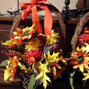 Fall door wreath/decor
